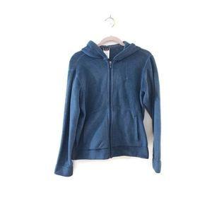 PATAGONIA Full Zip Fleece Green/ blue Hoodie